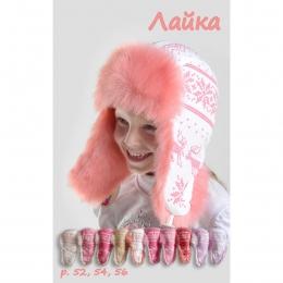 Зимняя шапка Boobon Лайка 52 см