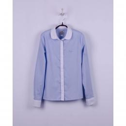 Блуза с длинным рукавом BoGi Бело-голубая полоска