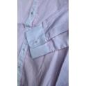 Нарядная блуза с длинным рукавом,( нежно-розовая полоска)