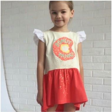 ПЛ-19 Платье ДОНАТ, супрем+батист - 100% хлопок