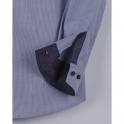 Рубашка BoGi casual Бело-синяя полосочка