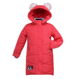 Пальто зимнее АФИНА ,  плащевка/синтепон/флис+нейлон