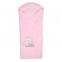 Конверт - одеяло велюровые утеплитель  силикон, 73*73
