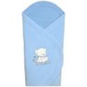Конверт-одеяло велюровое, утеплитель - силикон, 73*73