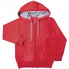 Куртка KR-15-18 ЛЕДИ ШИК, двухнитка с начесом - 100% хлопок ГАББИ-ОСЕНЬ