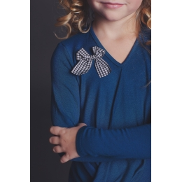 Блуза ЖАДЕ, синяя