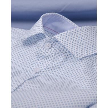 Рубашка с коротким рукавом (122-146) , 100% хлопок
