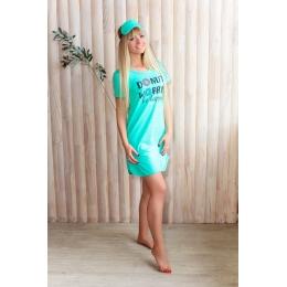 Платье-футболка женское