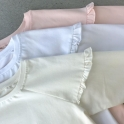 КФ-551 Кофта Рюша на рукаве Супрем з лайкрою 95% хлопок +5%лайкра