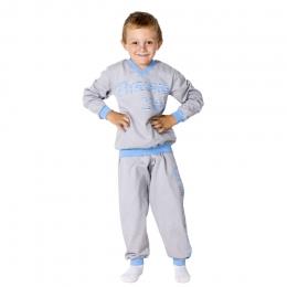 Пижама СТРОНГМЕН, футер с начесом- 100% хлопок
