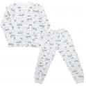 Пижама ТЕПЛАЯ-2 , мальчик, байка -100% хлопок