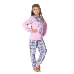 Пижама ЗАЯ, футер с начесом- 100% хлопок