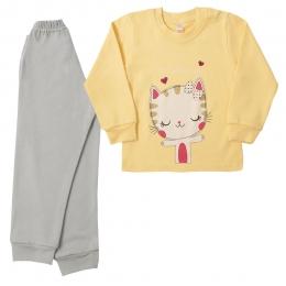 Пижама КИСА, интерлок -100% хлопок