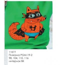 Пижама Габби PGM-19-2 зеленый