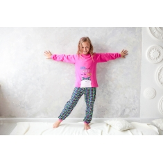 Пижама Габби PGD-19-8 розовый