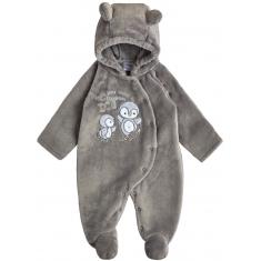Комбинезон Garden Baby Пингви Серый