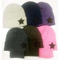 Набор (шапка+снуд) Star , двойной трикотаж 54-58