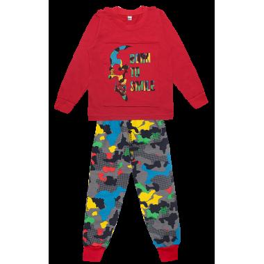 Пижама Габби PGM-19-13 красный