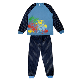 Пижама Габби PGM-19-8 Голубой