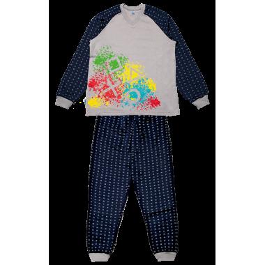 Пижама Габби PGM-19-8 Серый
