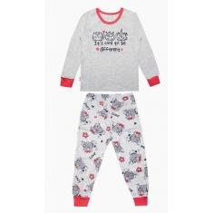 Пижама Габби PGD-19-10 серый