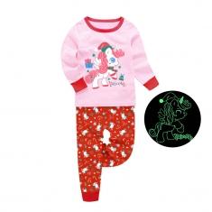 Пижама Barbeliya Рождественский Единорог-1