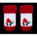 """Комплект KT-19-43-3 """"Новый год"""" (боди+носки) ткань: интерлок."""