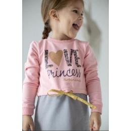 ПЛ-55 Платье Princess Love , двухнитка- 100% хлопок