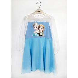 Платье ЭЛЬЗА и АННА  Состав: основная ткань верха и подъюбника 95%хлопок, 5%эластан