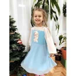 Платье ЭЛЬЗА Состав: основная ткань верха и подъюбника 95%хлопок, 5%эластан