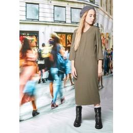 Платье Овен Газа Хаки