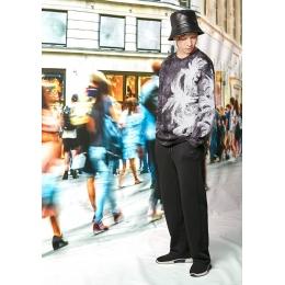 Джемпер Овен Мураками-1 Черный