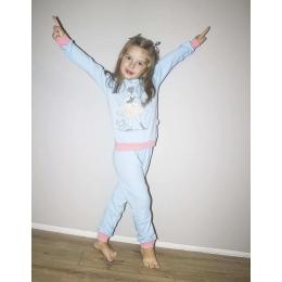 Пижама Robinzone Балерина-2 Голубая