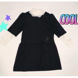 Платье Овен Гимназистка (+гольф) Темно-синее