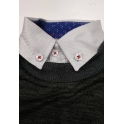 Комплект BoGi/Monkey Рубашка/джемпер Серый