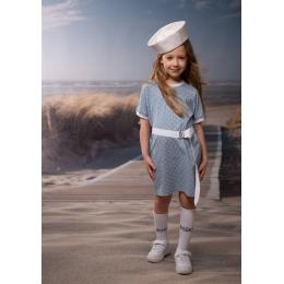 Платье Овен Арлен-1 Серо-голубой