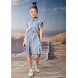 Платье Овен Бети Голубой в точку