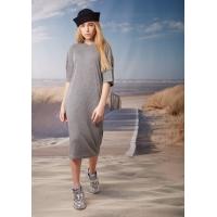 Платье Овен Лена Серый