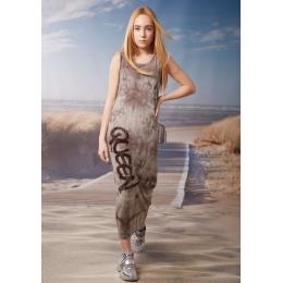 Платье Овен Лиз Коричневый вареный