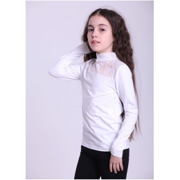 Блуза  95% хлопок, 5% эластан
