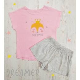 Пижама Летняя-2 Розовая