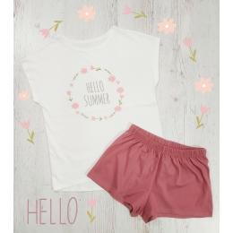 Пижама Летняя-3 Молочный