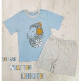 Пижама Летняя-2 Голубая
