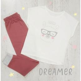 Пижама DREAMER-2 молочный