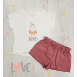 Пижама Летняя-1 Молочный