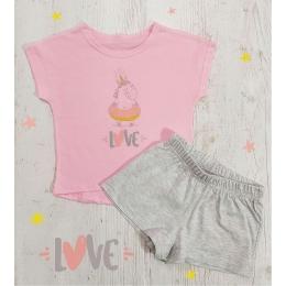Пижама Летняя-1 Розовая