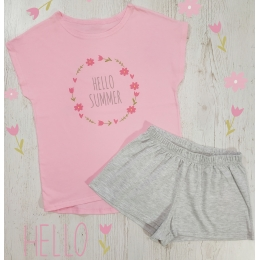 Пижама Летняя-3 Розовая