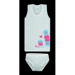 Детский комплект белья для девочки KTD-20-4