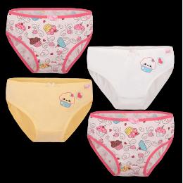 Детские трусы-бикини для девочки TRD-20-4 упаковка 4 шт. (*цена за шт.)