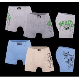 Детские трусы-шорты для мальчика SHM-20-2 упаковка 4 шт. (*цена за шт.)